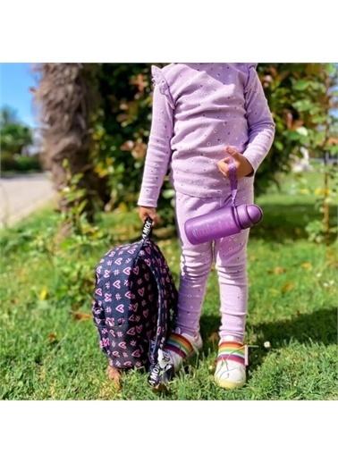 Kids A More Kids A e Kalpli Hashtag Kız Çocuk Sırt Çantası Lacivert